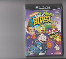 Nickelodeon Party Blast NINTENDO GAMECUBE/WII compatible Bob l'éponge