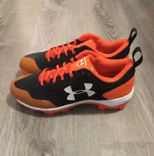 SAMPLE Under Armour Guide Baseball Cleats MLB Collection Orioles's Mens 11 RARE