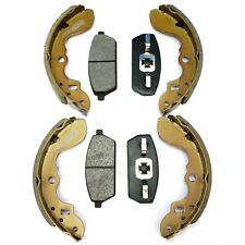 Front Brake Pads and Rear Brake Shoes Fit Suzuki Carry Mazda Scrum DB51T DD51T