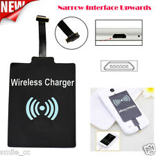 Universal Qi Wireless Charger Receiver Module Mat For Micro-USB Smartphones NEW