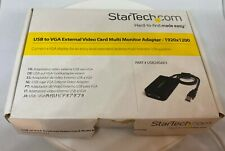 StarTech USB to VGA External Video Card Multi Monitor Adapter - 1920x1200 - USB