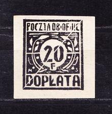 (PL) Polish Officers POW Camp Woldenberg Fi D3 blackprint expertised