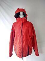 Spyder Women's Sz M Ski Snowboarding Jacket Thinsulate Orange EUC