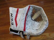 Used Cory Schneider CCM Lefevre Pro Stock Goalie Catcher.  Left Hand Devils