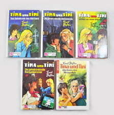 5 x Tina und Tini Bücher (Enid Blyton) Band 2, 3, 5, 6 & 13