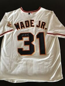 Lamonte Wade Jr Signed Giants Cream Jersey Autographed Auto New Large SF
