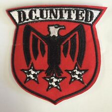 "D.C. DC  United  Embroidered  Iron on patch Major League   Soccer 3"" X 3"" MLS"