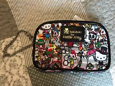 Tokidoki Sanrio Hello Kitty Circus Collection Wristlet / Purse / Cosmetic Bag