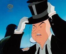 PENGUIN THE VILLAIN Batman The Animated Series WB PRODUCTION CEL W/SEAL COA 1992