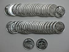 Lot of 50 - 1/10 oz 999 Silver Round Monarch Precious Metals MPM Steam Train