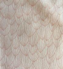 Pink & White Petal Geometric Organic Elastin Jersey Half M Knit Stenzo