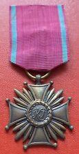 Poland Polish Cross of Merit Order 3rd Class medal badge