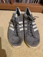 Vintage Original Adidas Campus Grey Size 12 70's 80's Korea Beastie Boys SH8508