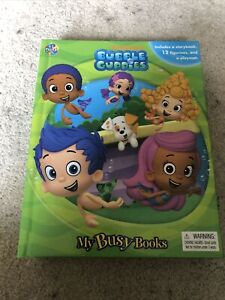 Nickelodeon Bubble Guppies My Busy Books With Mat And 6 of the Toys