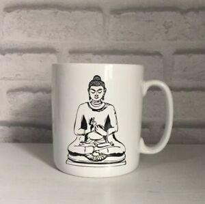 BUDDHA Mug JUMBO XL Porcelain Soup Coffee MIND - WHAT YOU THINK YOU BECOME