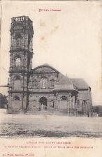 ETIVAL l'église abbatiale en grès rouge