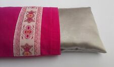 Aromatherapy yoga eye pillow with lavender - Candy pink