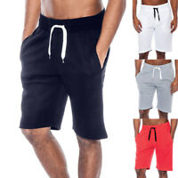 Men's Summer Casual Workout Tech Fleece Shorts Baggy Sport Jogging Beach Pants