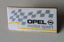 Opel motor sport logotipo, Starter bandera pin 32x15mm [11415]