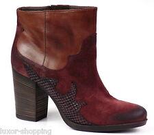 Neu JANET & JANET 30404 Stiefelette UVP€199 Leder braun Gr.39 Damen Stiefel Boot