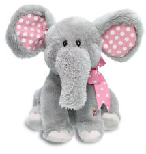 "NEW Cuddle Barn ""Ellie"" Pink Girl Elephant Song Motion Dance 12"" Animated Plush"