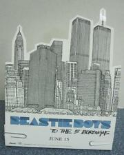 Beastie Boys 2004 To The 5 Boroughs Promotional 3D counter display Rare New