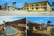 Resort 66 Motel Holmes Beach FL Fla Bradenton Sarasota Multiview Postcard D10c