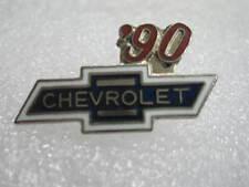 1990  Chevrolet Bowtie  Lapel Hat Pin Badge