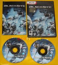 BLACKSITE Pc Versione Ufficiale Italiana Black Site »»»»» COMPLETO