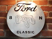 FORD CLASSIC tractor cut steel advertising signage wall art stencil plaque LARGE