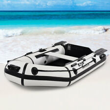 Goplus 2 Person 7.5FT Inflatable Dinghy Boat Fishing Tender Rafting Water Sports