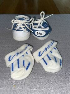 Lissi Baby Doll Shoes And Socks Denim  Blue