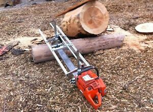 """Holzfforma Portable Chainsaw Mill Planking Milling Lumber 18"""" to 48"""" Guide Bar"""