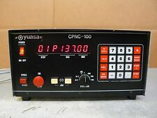YUASA CPNC-100 CONTROLLER FOR INDEXER ROTARY TABLE