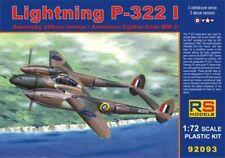 RS Models 1/72 Lightning P-322 I # 9293