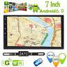7'' Android 6.0 4G WiFi Double 2DIN Car Radio Stereo GPS NAV RDS Headunit+Camera