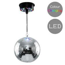 Novelty Rotating Multi Colour LED Disco Party Mirror Ball Lights Motor Light Kit