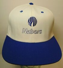 Vintage 90s Nabors Oil Well Drilling Texas Snapback Trucker Hat Cap Made in Usa