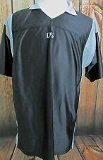 Men's Nintendo DS Promotional Polo Jersey Shirt Black Gray Size Large