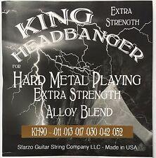 King Headbanger Hard Metal Playing Electric Guitar Strings KH90 gauges 11-52