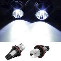 10W LED mit Standlicht Angel Eyes Marker BMW E39 E60 E61 E64 E65 E66 E53 E83 E87