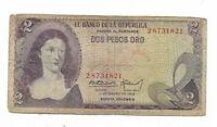 COLOMBIA 2 Pesos Oro 1972