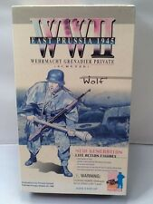 "Dragon 12"" WW2 WWII Wehrmacht Grenadier Private ""Wolf"" East Prussia 1945 Figure!"