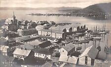 HAMMERFEST FINNMARK NORWAY NORGE PANARAMA REAL PHOTO POSTCARD 1910s