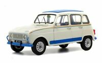 SOLIDO 1800105 RENAULT 4L JOGGING diecast model road car white 1981 1:18th scale