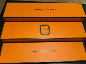 Hermès Apple Watch Series 6 Hermes 44mm Space Black Noir Single Tour