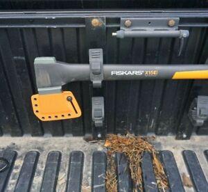 "Fiskars X15 kydex sheath also fits new 28"" chopping axe SEE DESCRIPTION, ORANGE"