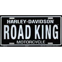 HARLEY DAVIDSON MOTORCYCLE RD-KING ROAD KING CAR METAL LICENSE PLATE MADE USA