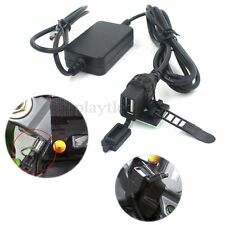 Dual USB Powerport Charger 12V 2.1A for iPhone Android Smartphone GPS Motorcycle