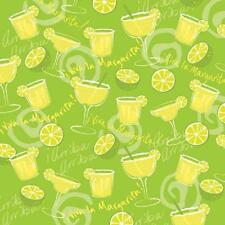 Margarita Lime Green Cotton Bandana Scarf Handkerchief Hanky 22X22 Inch